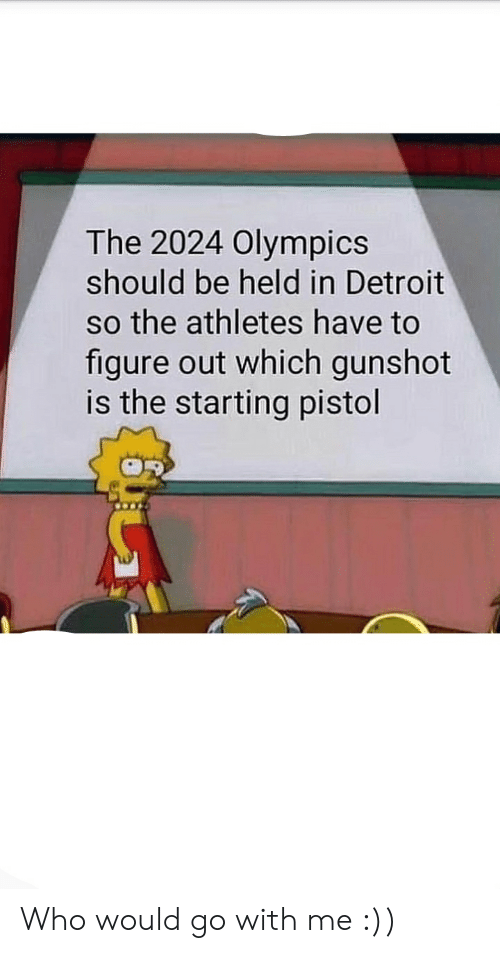 The 2024 Olympics Should Be Held in Detroit So the Athletes