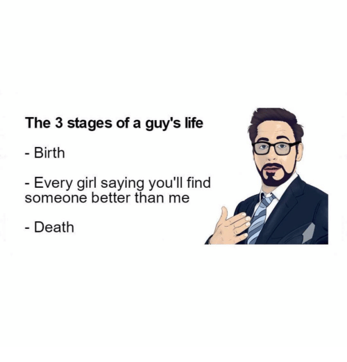 stages of dating me meme