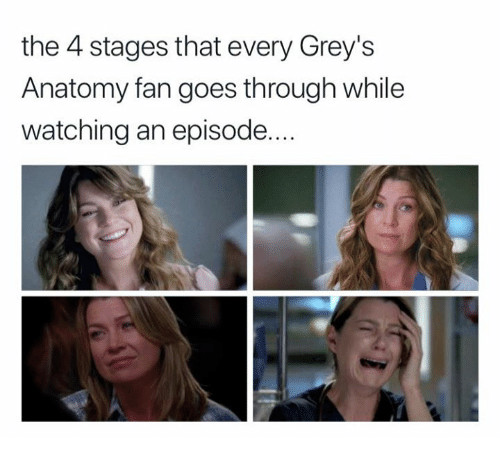 The 4 Stages That Every Grey\'s Anatomy Fan Goes Through While ...