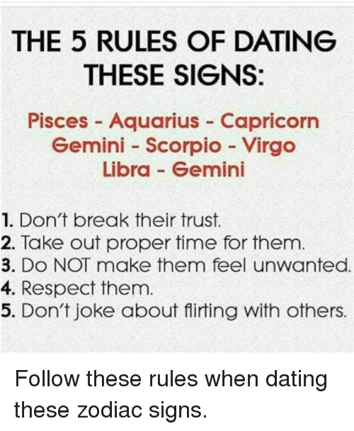 Virgo dating gemini