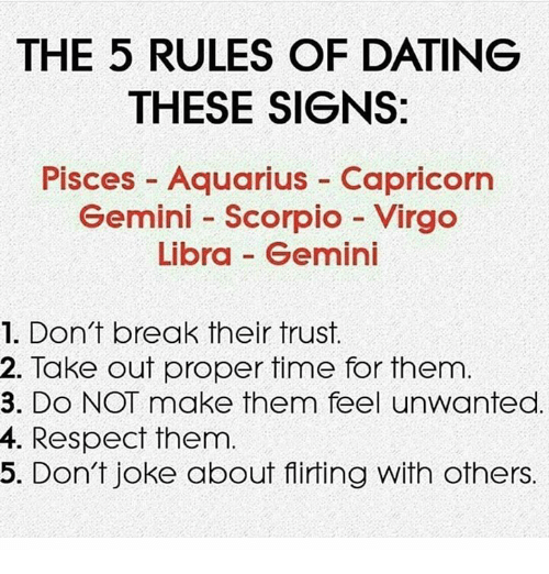 This must. VIRGO goes best with Taurus, Capricorn, Cancer and Scorpio.