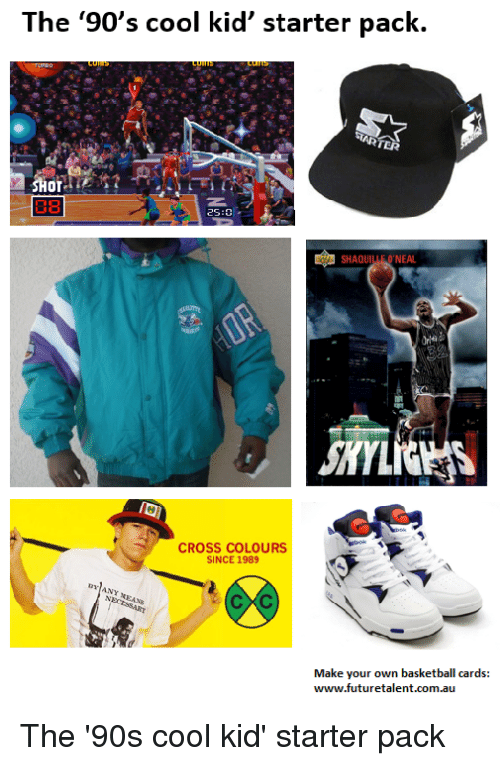 the 90s cool kid starter pack ot 2s shaqu oneal 22439675 the '90's cool kid' starter pack ot 2s shaqu o'neal cross colours