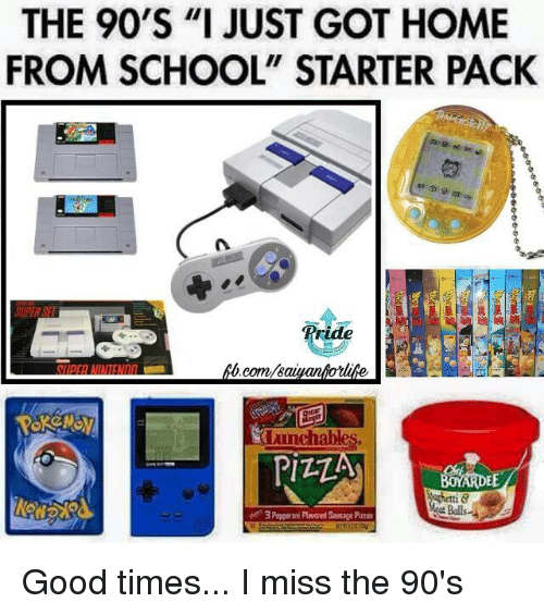 i miss the 90s