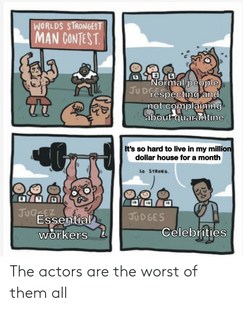 The Worst, Them, and All: The actors are the worst of them all