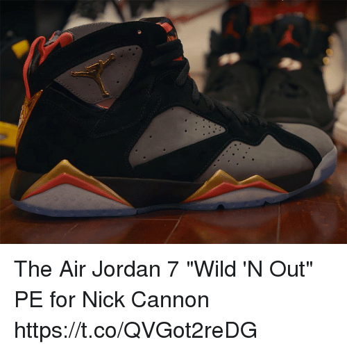 finest selection bb566 db0f7 Air Jordan, Memes, and Nick Cannon  The Air Jordan 7