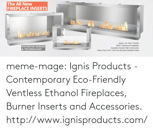 The All New Fireplace Inserts Super Low Heat Transfer Zero