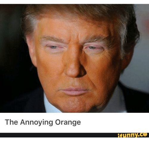 Image result for trump funny orange