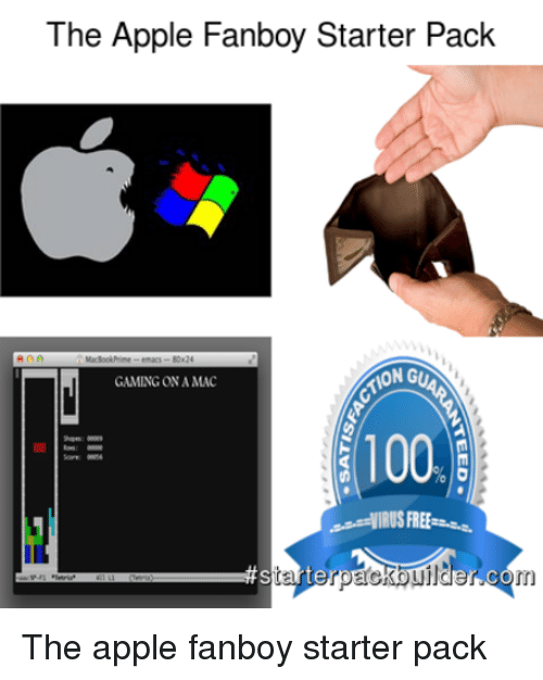 the apple fanboy starter pack wong gaming ona mac 100 2647171 the apple fanboy starter pack wong gaming ona mac 100 starte in