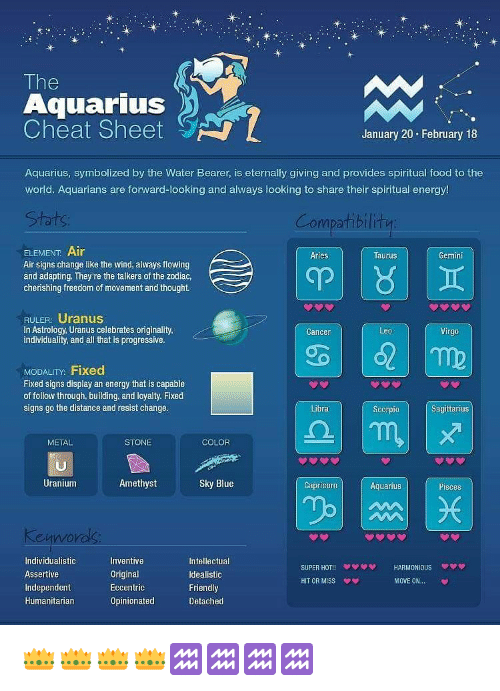 do aquarius men cheat