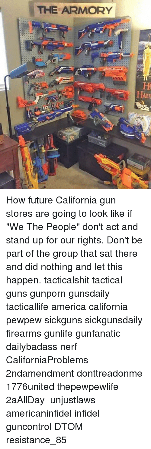 Memes, 🤖, and Nerf: THE ARMORY HAUu How future California gun stores are
