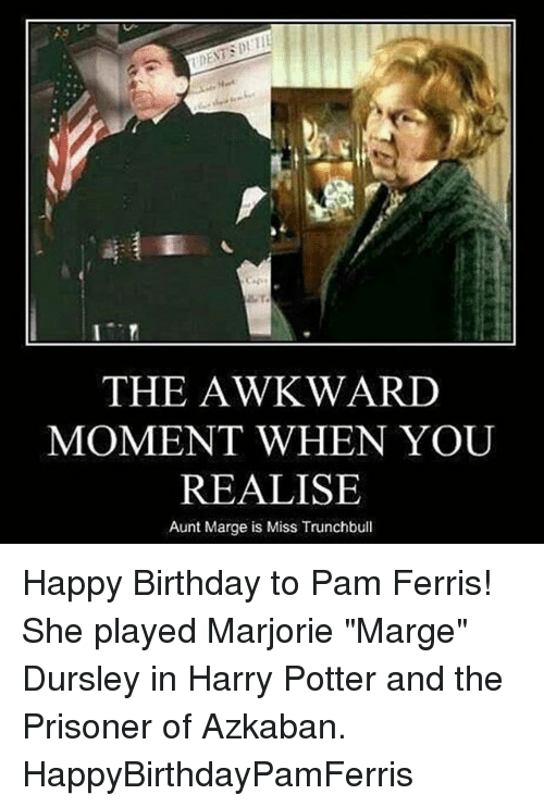 the awkward moment when you realise aunt marge is miss 20686368 the awkward moment when you realise aunt marge is miss trunchbull