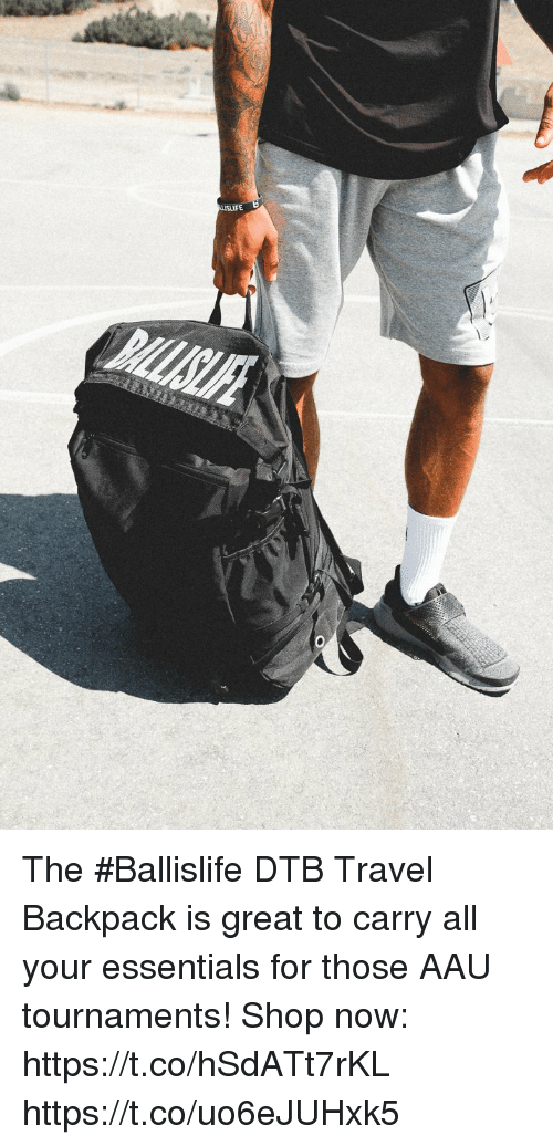 65cc73fcfbb0 The  Ballislife DTB Travel Backpack Is Great to Carry All Your ...