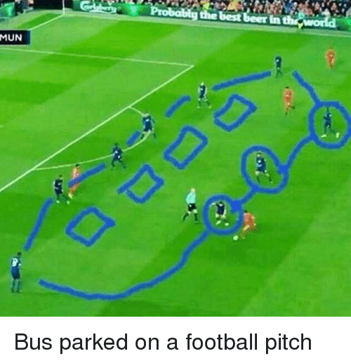 Image result for bus on a football pitch