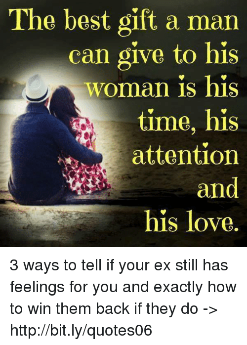 The Best Gift a Man Can Give to His Woman Is His Time His