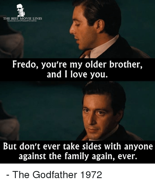 The Godfather Quotes About Family: 25+ Best Memes About Taking Sides