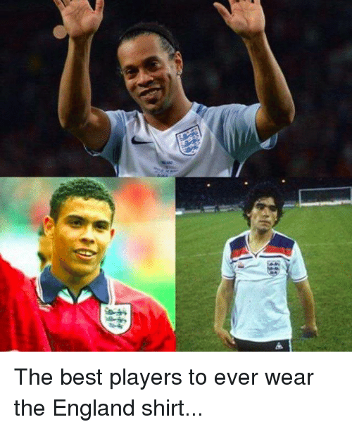 England, Memes, and Best: The best players to ever wear the England shirt...