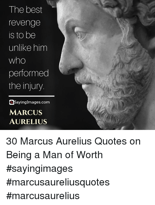 Revenge, Best, and Quotes: The best  revenge  is to be  unlike him  performed  the injury  Sayinglmages.com  MARCUS  AURELIUS 30 Marcus Aurelius Quotes on Being a Man of Worth #sayingimages #marcusaureliusquotes #marcusaurelius