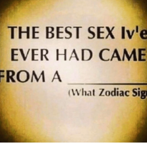 The best sex ive ever had