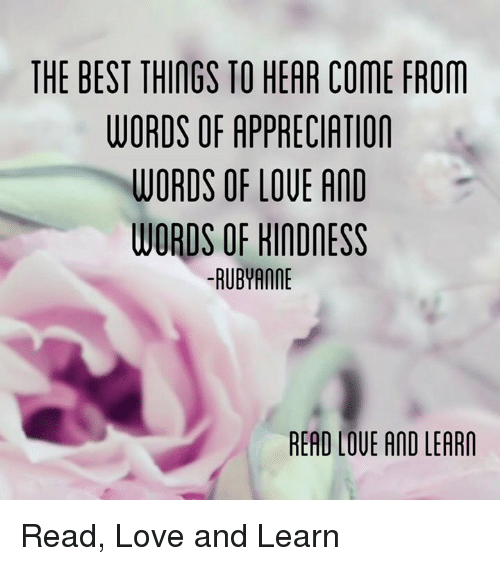 love memes and best the best things to hear come from words of