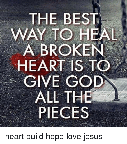 Tips on how to get over a broken heart
