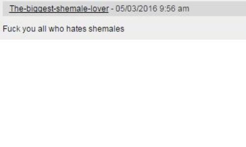 Mexican shemale pics The Biggest Shemale Lover 05032016 956 Am Fuck You All Who Hates Shemales Magnificent Mexican Meme On Me Me