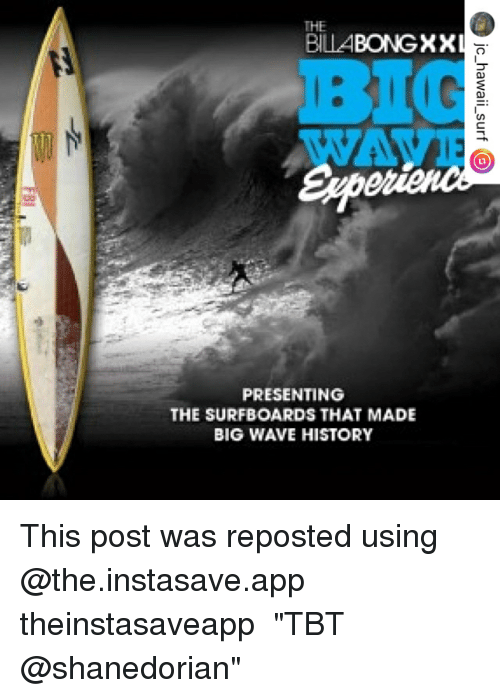 The Billa Bongxx Presenting The Surfboards That Made Big Wave