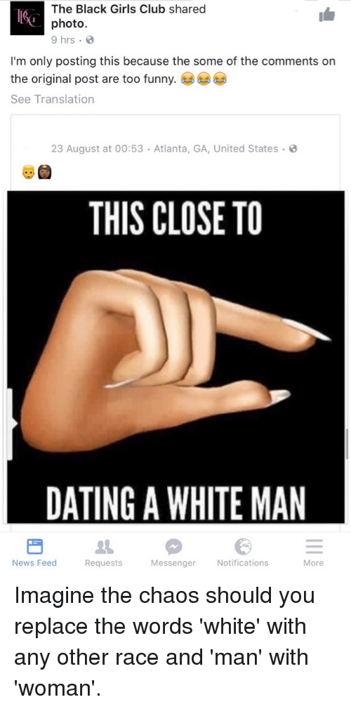 Im black and dating a white guy memes