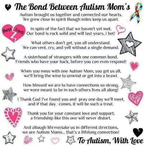 Memes, Wine, And Common: The Bond Between Mutism Moms Autism Brought Us  Together