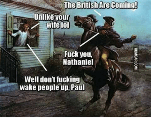Fuck the british