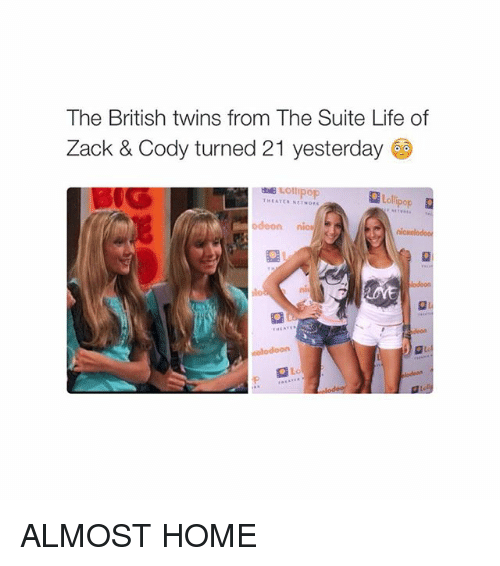 the british twins from the suite life of zack 1789355 the british twins from the suite life of zack & cody turned 21