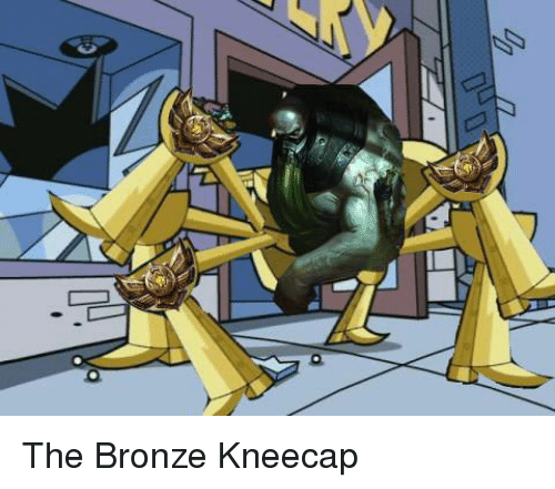 Fairly odd parents bronze kneecap