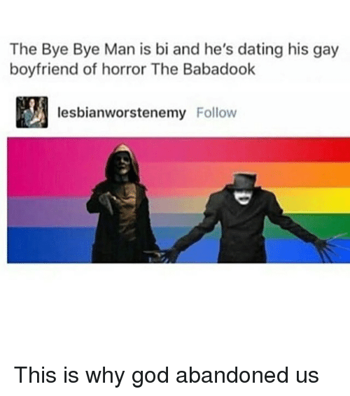 The Bye Bye Man Is Bi and He's Dating His Gay Boyfriend of Horror