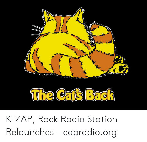 The Cafs Back K-Zap Rock Radio Station Relaunches