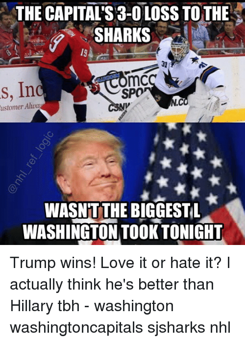 the capitals 3 0 loss to the sharks mc s in 23112302 25 best capitals memes from memes, the first memes, the memes