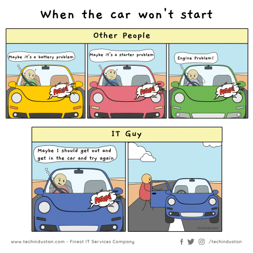The Car Won't Start When Other People Maybe It's a Starter