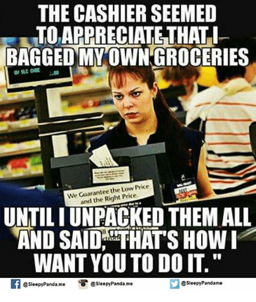 the cashier seemed toappreciate that i bagged myowngroceries the price 4250450 ✅ 25 best memes about lowes lowes memes