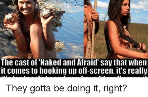 The Cast Of Naked And Afraid Say That When It Comes To -4040
