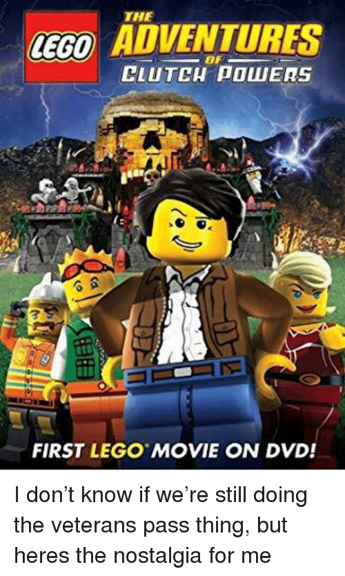 The Ceco Adventures Clutch Powers First Lego Movie On Dvd Lego