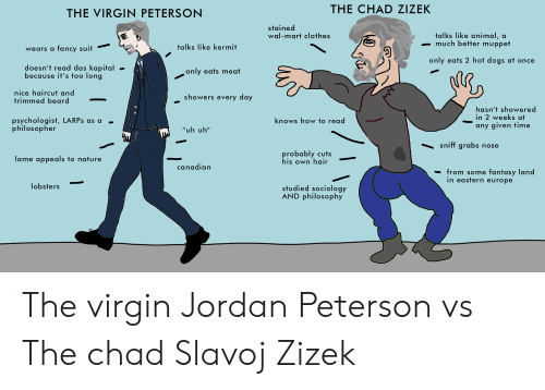 The CHAD ZIZEK THE VIRGIN PETERSON Stained Wal-Mart Clothes Talks