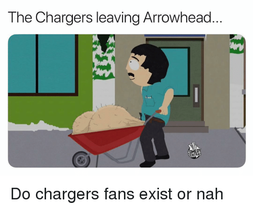 Sports, Chargers, and Comedy Central: The Chargers leaving Arrowhead  COMEDY  CENTRAL Do chargers fans exist or nah