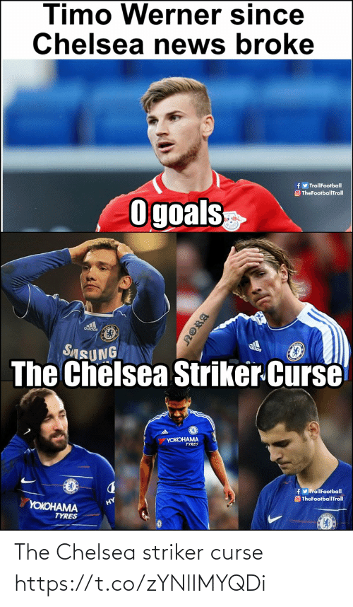 Chelsea, Memes, and 🤖: The Chelsea striker curse https://t.co/zYNlIMYQDi