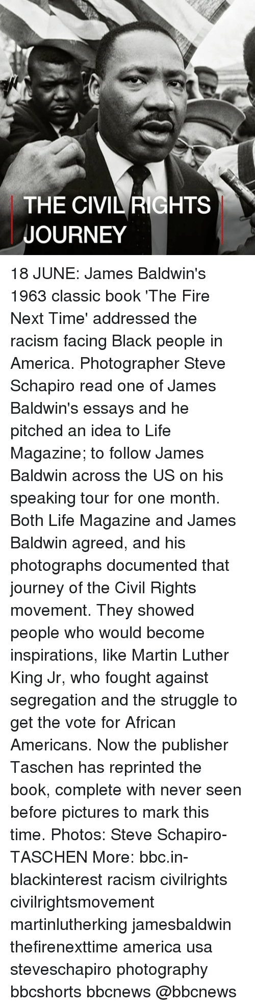 james baldwin occasion magazine article