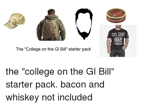 the college on the gl bill starter pack en ong 2740231 the college on the gl bill starter pack en ong cut with my free