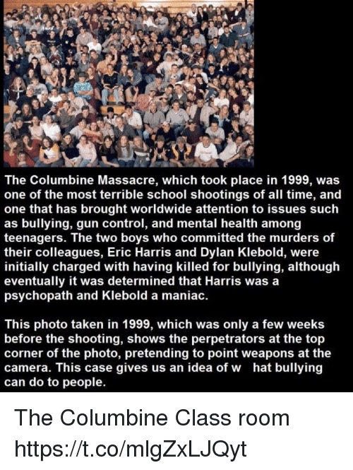 religious repercussions of the columbine massacre Religious fundamentalism, and bullying at columbine young life, religious fundamentalism, and bullying at religious fundamentalism, and bullying at.