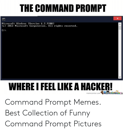 The COMMAND PROMPT Microsoft Windows Uersion 6292001 C> 2012