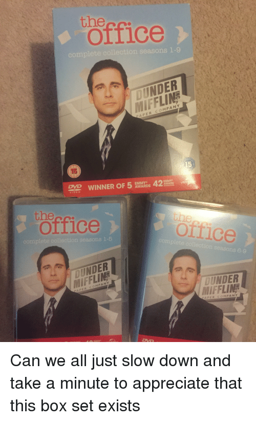 The Office Reciate And Complete Collection Seasons 1 9 Oynder