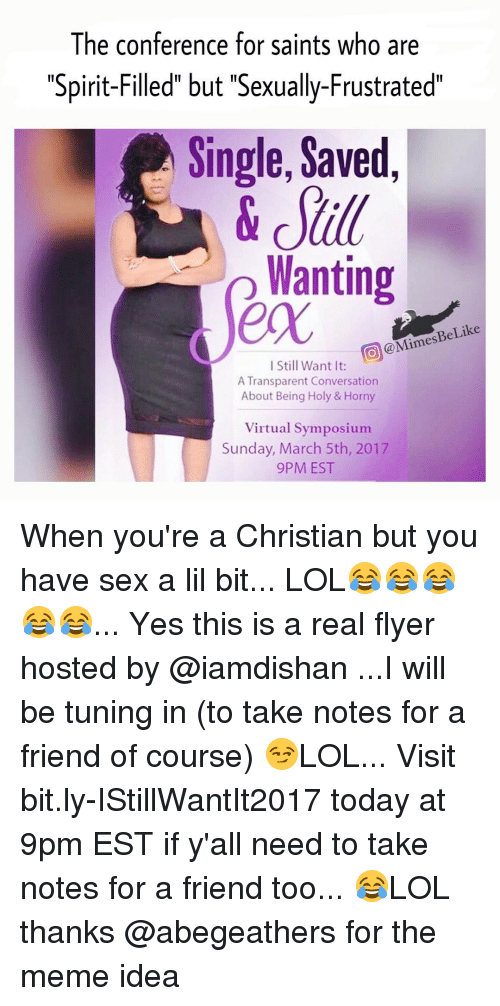 Single christian sexually frustrated