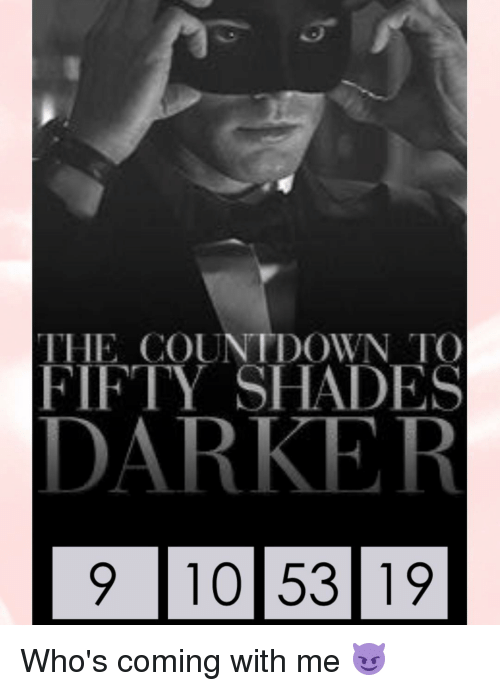 countdown to fifty shades of grey
