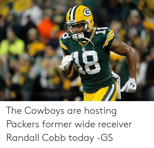 Dallas Cowboys, Memes, and Packers: The Cowboys are hosting Packers former wide receiver Randall Cobb today -GS