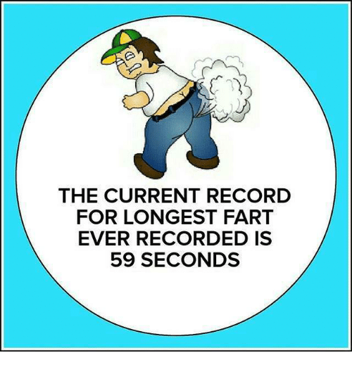 Longest Fart Ever Recorded